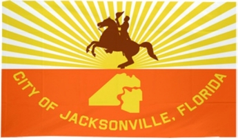 City of Jacksonville Flags