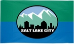 City of Salt Lake City Flags