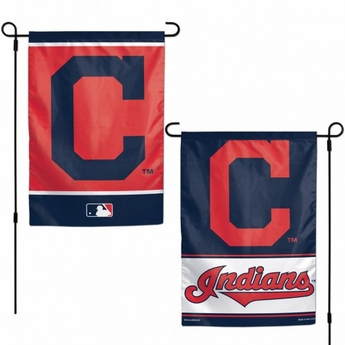 Cleveland Indians Two-Sided Garden Banner