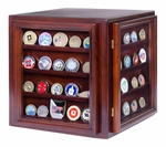 Coin Display Case with 360 Degree View