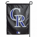 Colorado Rockies Garden Banner