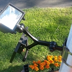 Commercial/Residential LED Solar Flagpole Light