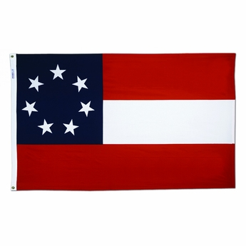 Confederate Stars and Bars Flag