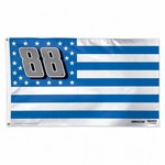 Dale Earnhardt Jr Stars and Stripes Flag