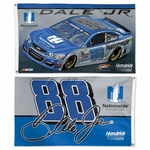 Dale Earnhardt Jr Two-Sided NASCAR Flag