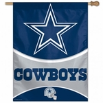 Dallas Cowboys Vertical Flag