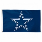 Deluxe 3' X 5' Dallas Cowboys Flag - Blue