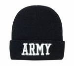 Deluxe Embroidered Army Watch Cap