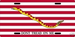 Don't Tread On Me Auto Tag