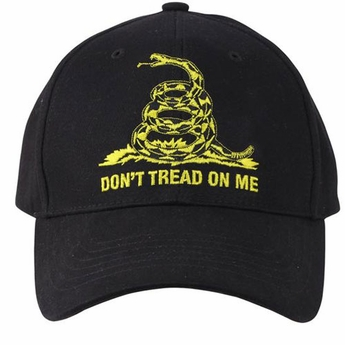 Don't Tread on Me Low Profile Insignia Cap