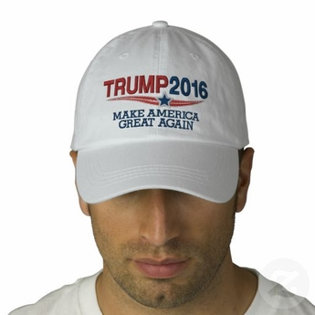 Donald Trump For President 2016 Star Baseball Cap