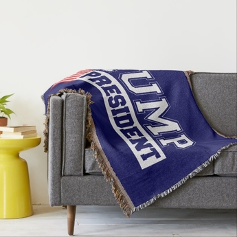 Donald Trump Presidential Throw Blanket