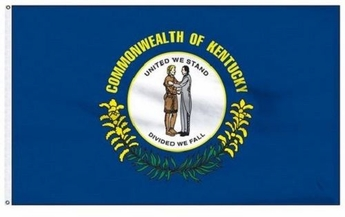 Economy Printed Kentucky State Flags