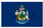 Economy Printed Maine State Flags