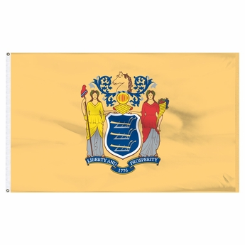 Economy Printed New Jersey State Flags