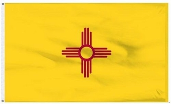 Economy Printed New Mexico State Flags