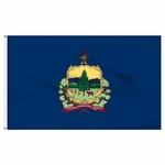Economy Printed Vermont State Flags