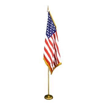 Economy U.S. Flag Indoor Set