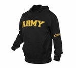 Embroidered Army Pullover Hoodie
