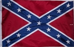 Embroidered Heavy Nylon Confederate Flags