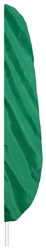 Emerald Green Feather Flag