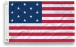 Evolution of Old Glory - 13 Star - 49 Star Flags