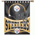 Full Color Pittsburgh Steelers Banner