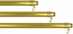 Gold Adjustable Aluminum Parade Flagpole