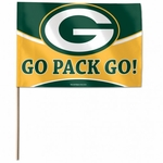 Green Bay Packers Stick Flags