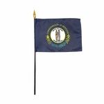 Handheld Kentucky State Flags