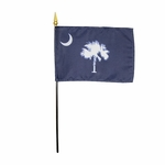 Handheld South Carolina State Flags
