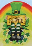 Happy Saint Pat's Decorative Garden Flag
