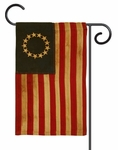 Heritage Cotton 13-Star Garden Flag