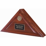 Heirloom Walnut Heritage Flag Case