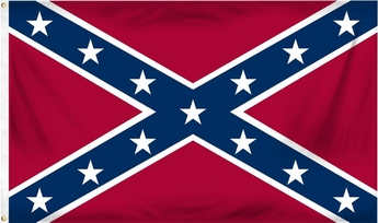 Printed Nylon Confederate Flags