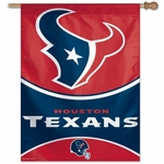 Houston Texans Vertical Flag
