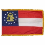 Indoor and Parade Georgia State Flags