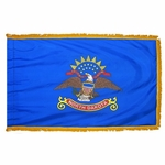 Indoor and Parade North Dakota State Flags