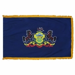 Indoor and Parade Pennsylvania State Flags
