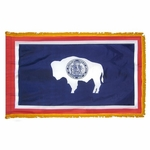 Indoor and Parade Wyoming State Flags