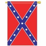 Large Confederate Banner