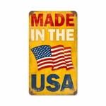 Made in the USA Vintage Sign