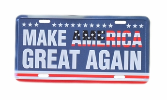 Make America Great Again License Plate