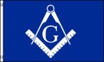 Masonic Flag (Blue & White)
