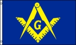 Masonic Flag (Blue & Yellow)
