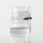 'Merica Bulletproof Rocks Glasses