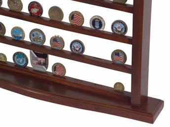 Military Challenge Coin Display Case
