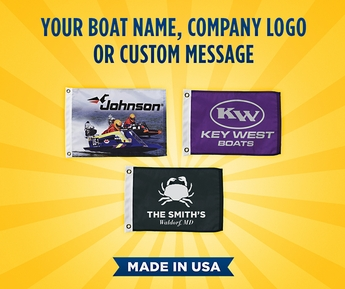 Custom Nylon Marine/Boating Flag