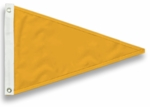 Nylon Solid Color Pennants - 5 Sizes/40 Colors