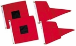 Nylon Storm Signals - Hurricane Flags/Gale Pennants